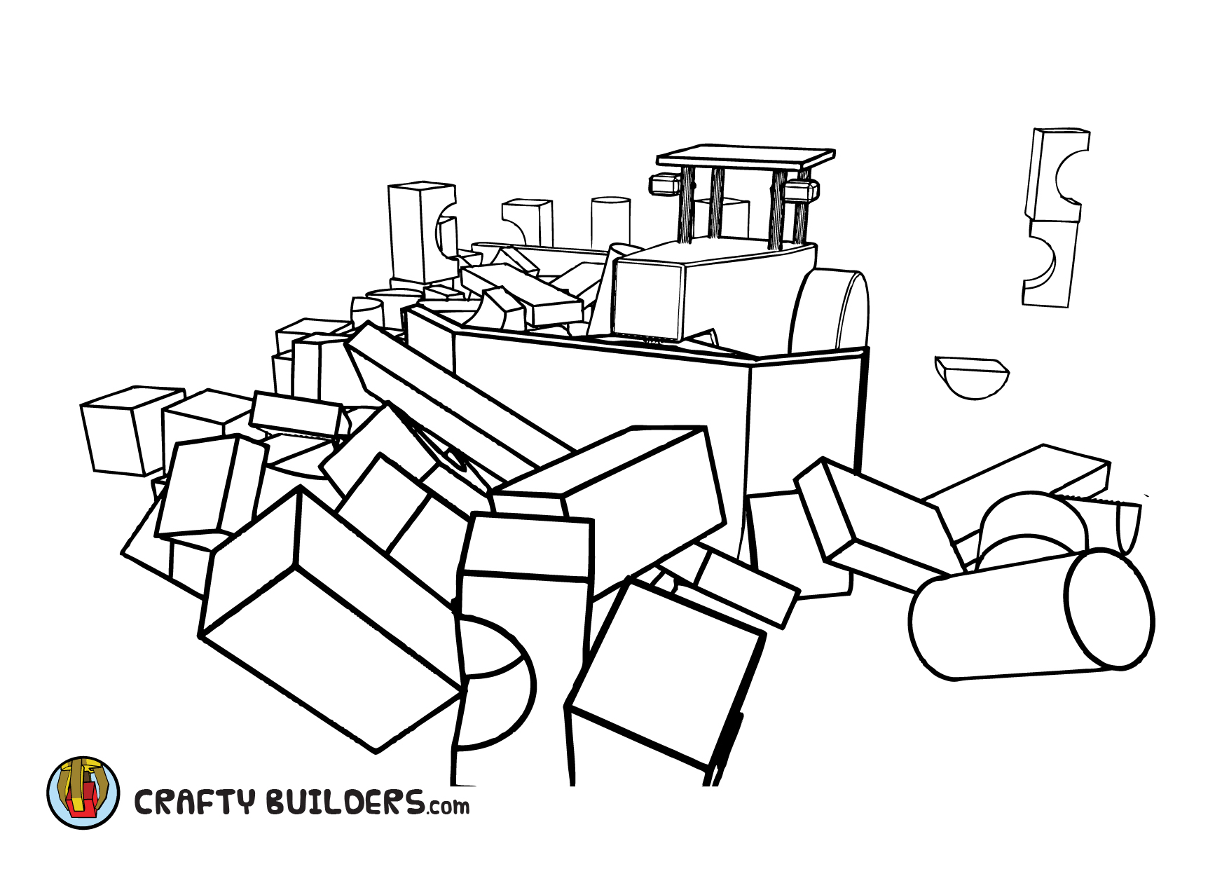 Playground - CraftyBuilders - animated online children series